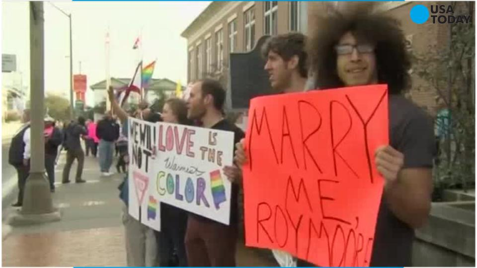 Federal judge: Alabama counties must allow same-sex marriage