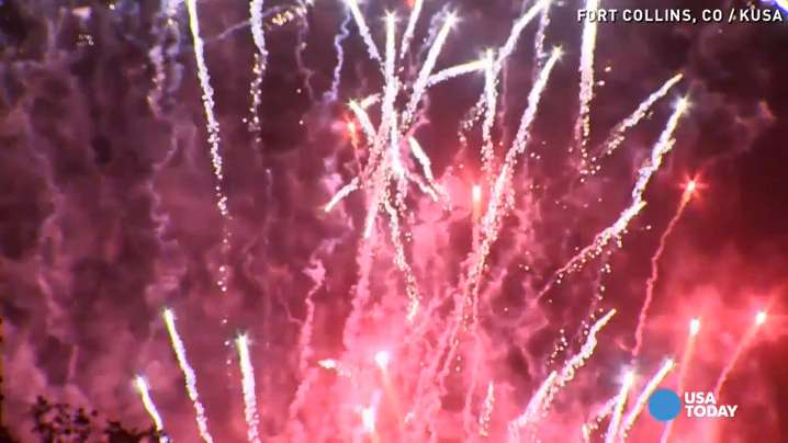Fireworks could trigger PTSD in veterans