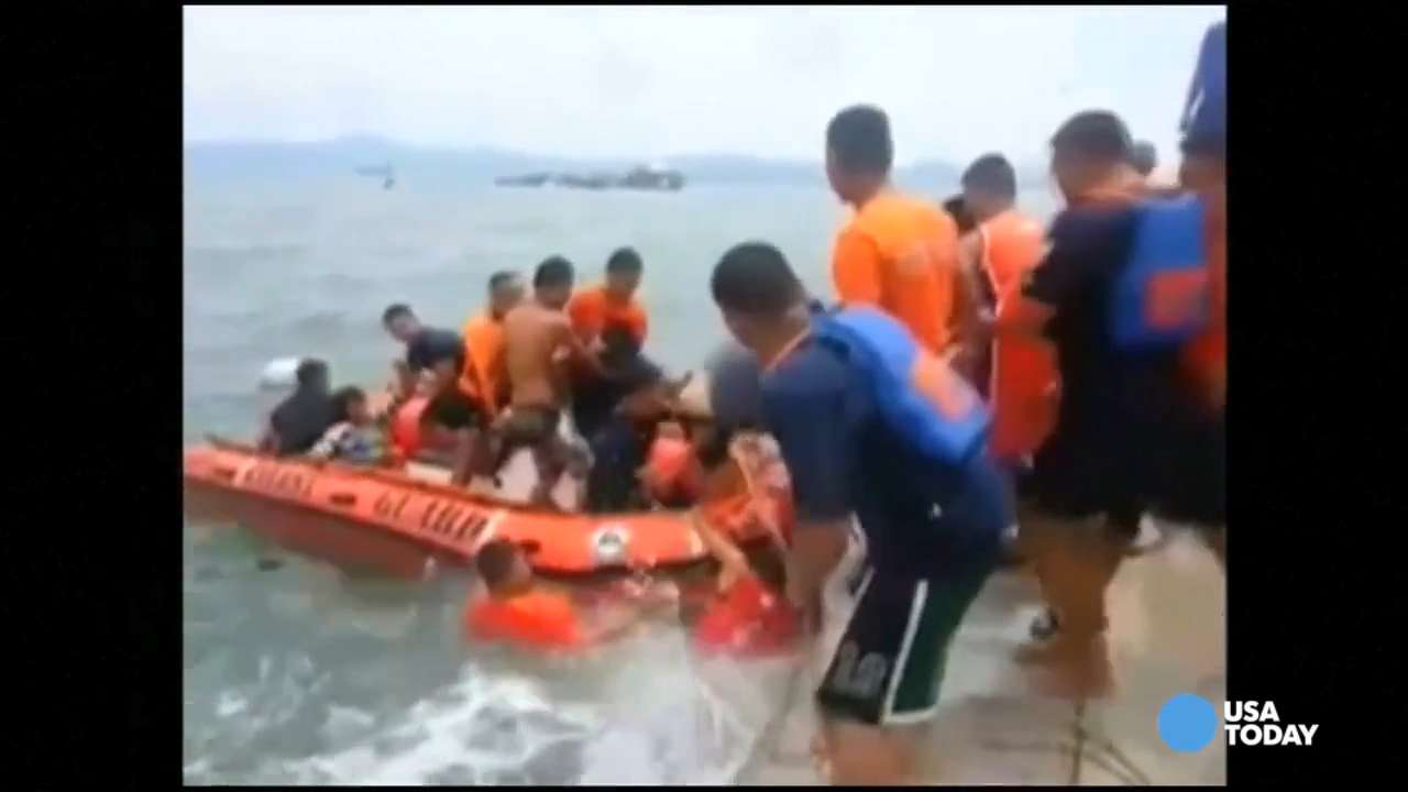 Dozens dead after ferry capsizes in Philippines