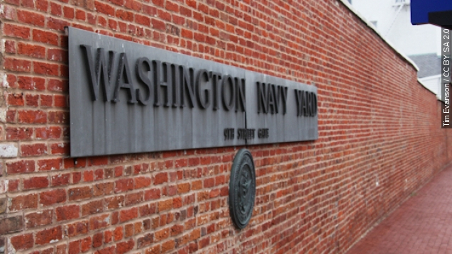 Washington Navy Yard placed on lockdown