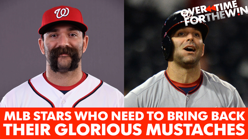 Overtime: 9 MLB stars who need to bring back their glorious mustaches