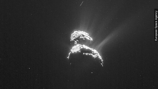 What we could learn from comet 67P's sinkholes