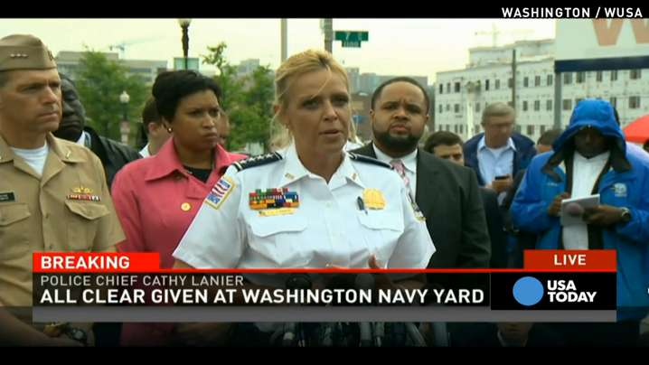 Police: We've improved since 2013 shooting at Navy Yard
