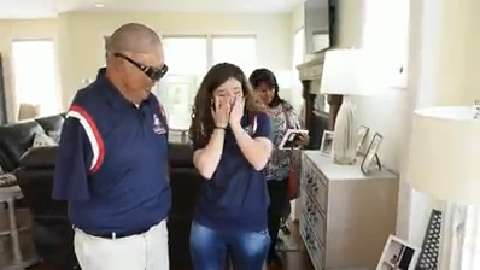 Wounded Iraq vet given the keys to new smart home