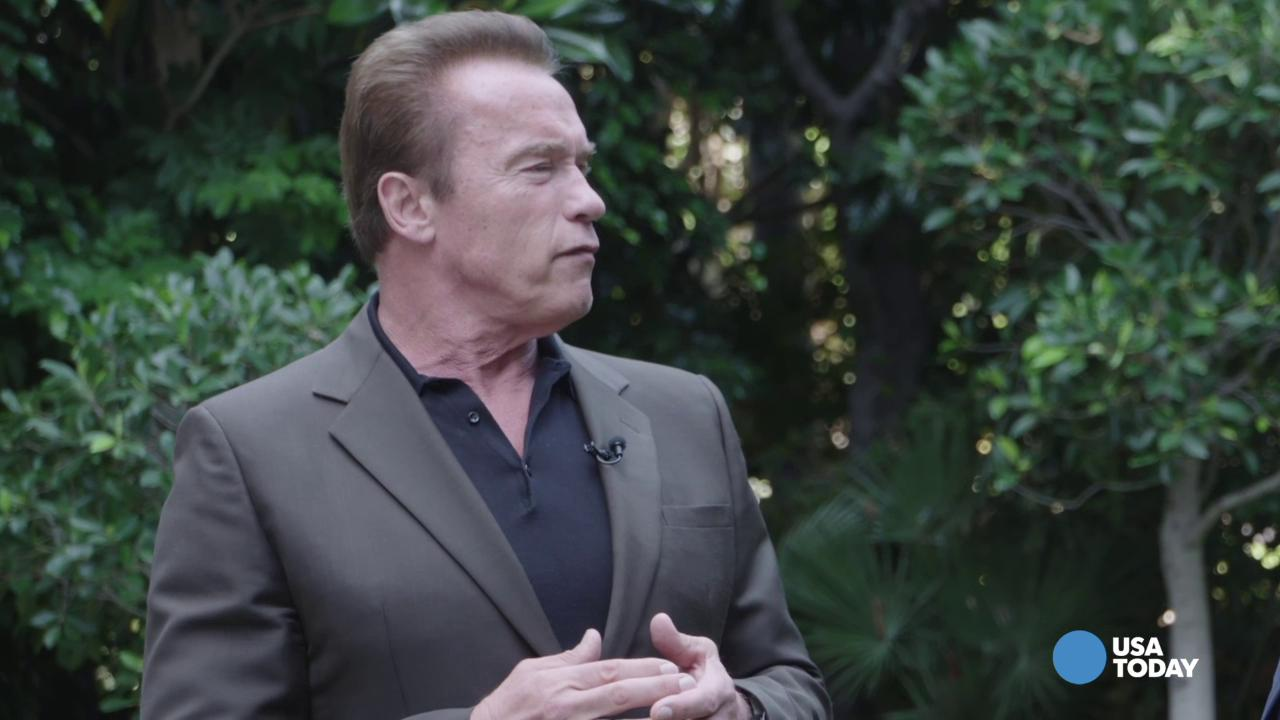 Schwarzenegger talks about Donald Trump's campaign
