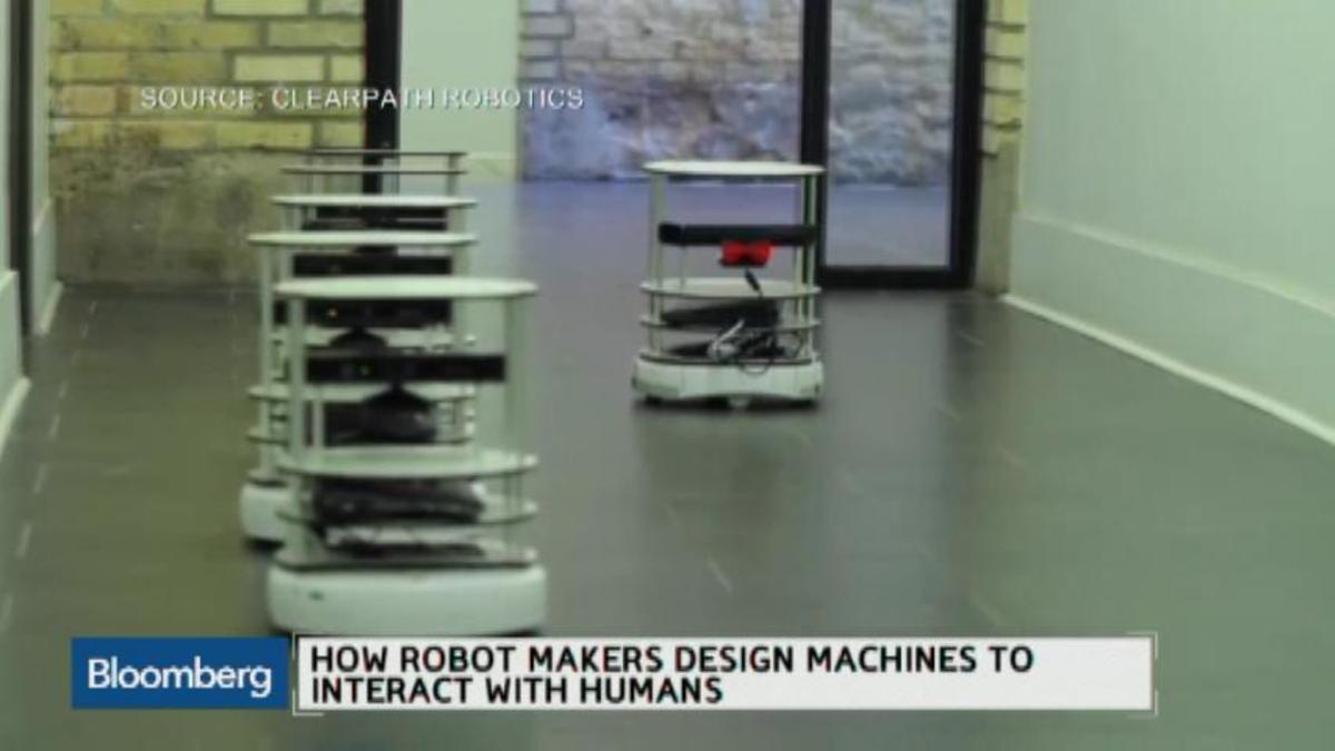 How will humans work with robots?