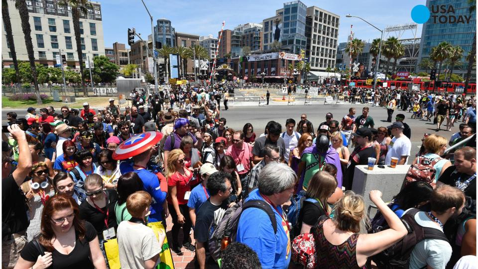 Comic-Con International decides to stay in San Diego through 2018