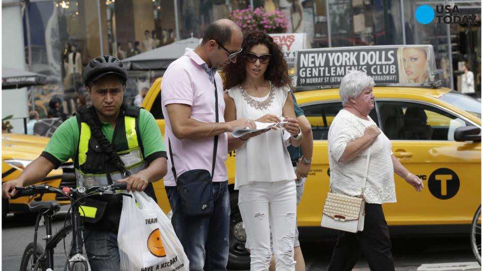 Honeymoon is over for Greek couple who went penniless in NYC