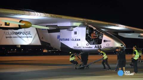 Record-setting solar flight set to end in Hawaii