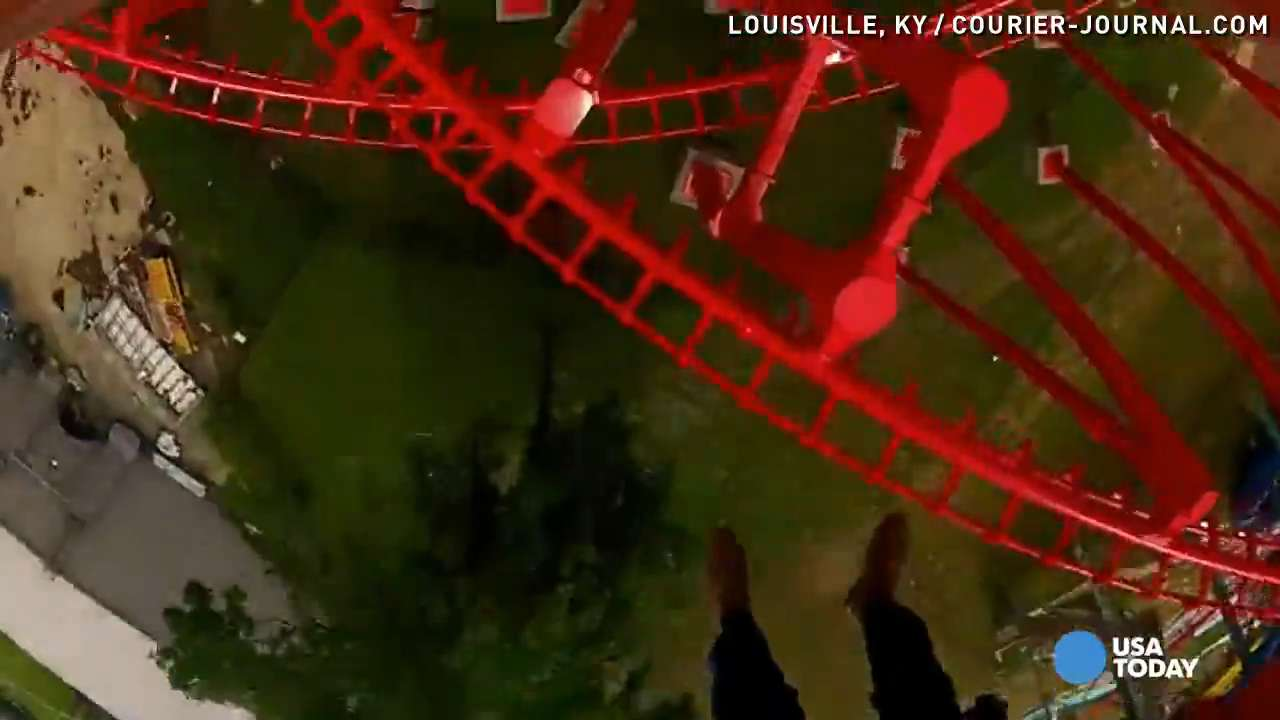 Experience new T3 roller coaster at Kentucky Kingdom
