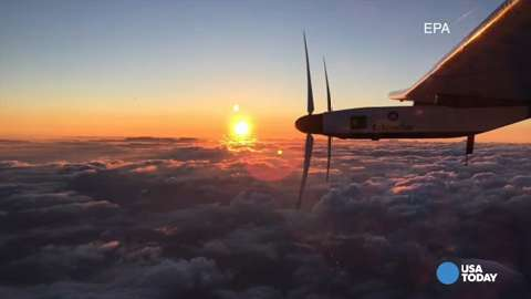 Solar Impulse lands safely in Hawaii