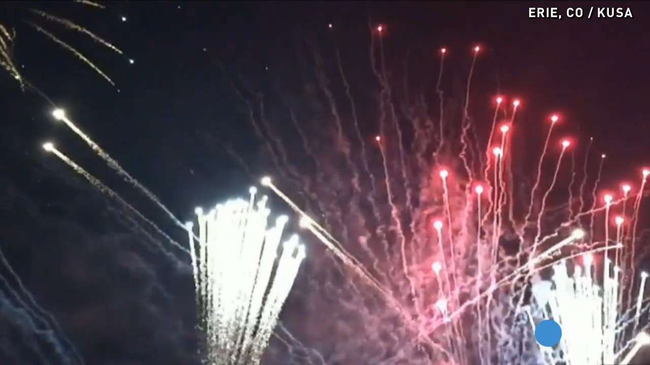 You've never seen fireworks like this before