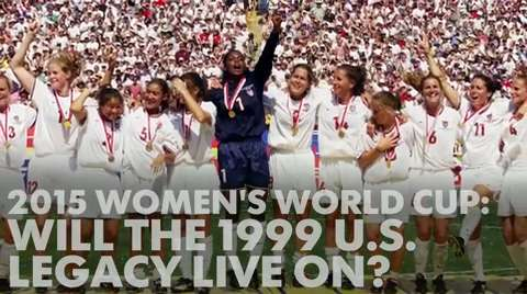 Will the 1999 U.S. World Cup team's legacy live on?
