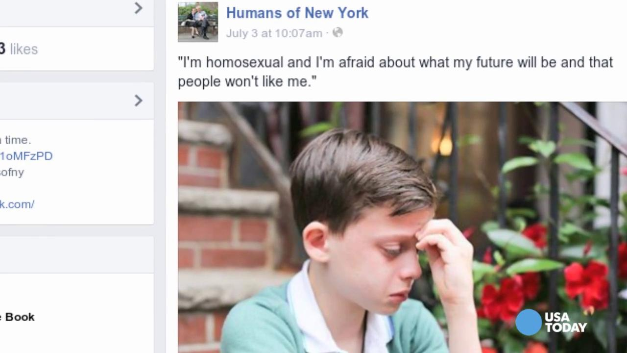 Clinton to tearful gay boy - Your future will be 'Amazing'
