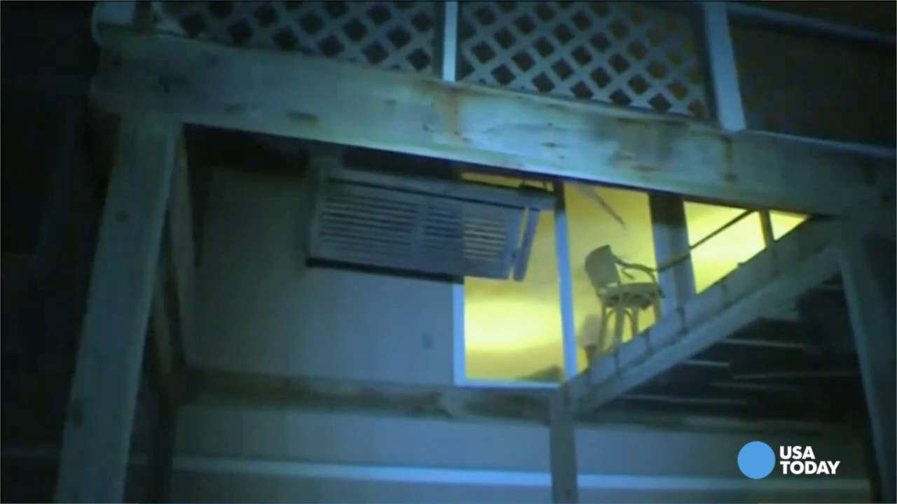 At least 14 hurt in deck collapse at N.C. beach house