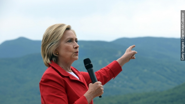 Hillary Clinton, like GOP rivals, blames China for hacks