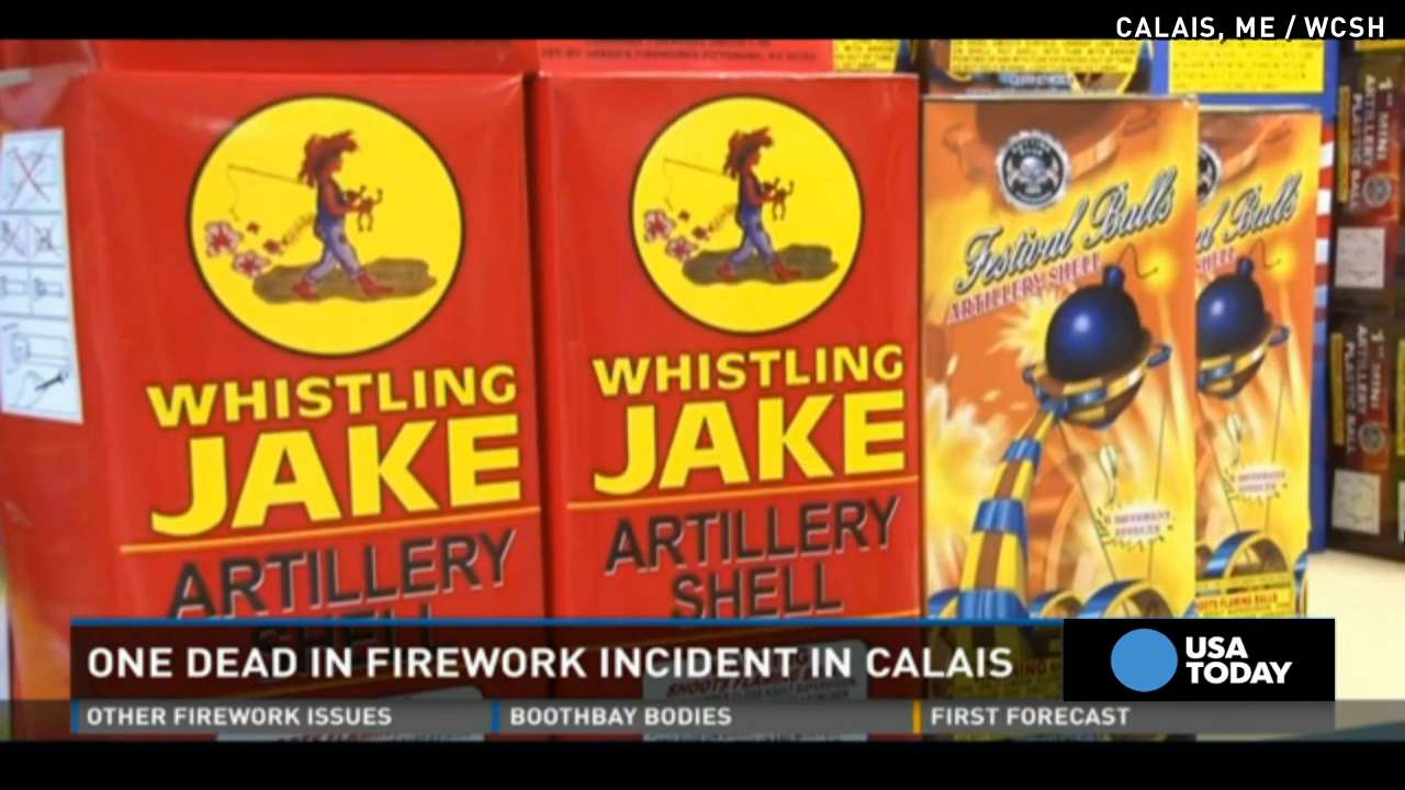 Man dies after strapping fireworks mortar to head