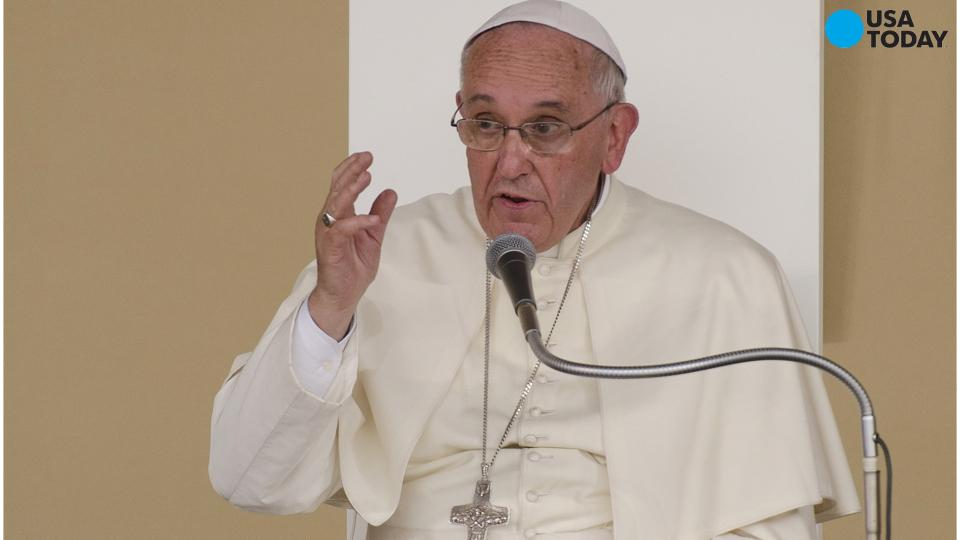 On home turf: Pope Francis touches on cherished issues
