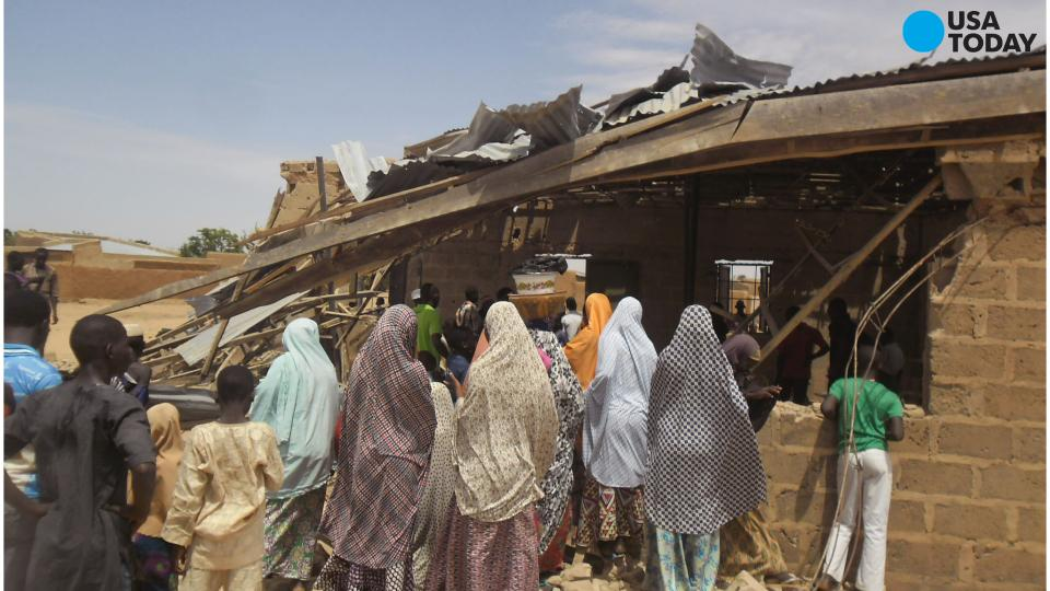Woman suicide bomber explodes at evangelical church in northeast Niger