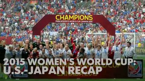 United States routs Japan to win Women's World Cup