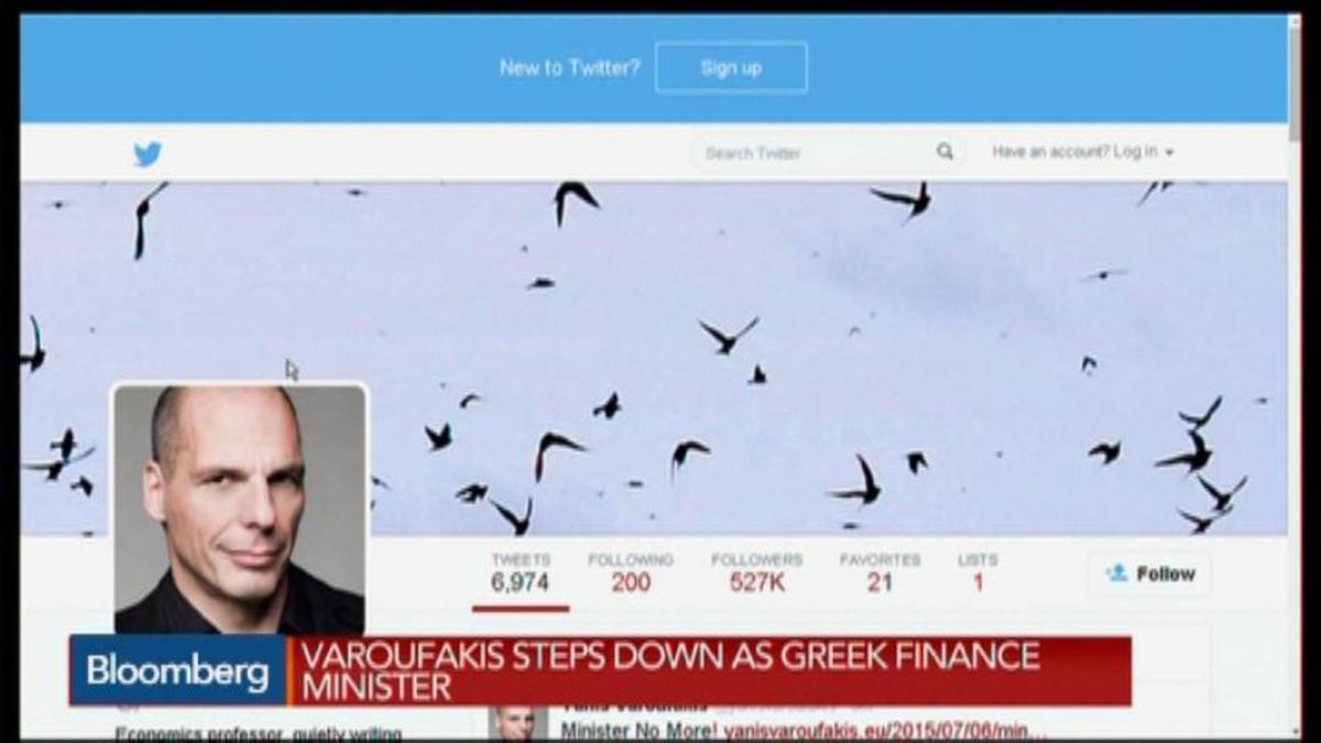 Varoufakis Quits as Greek Finance Minister
