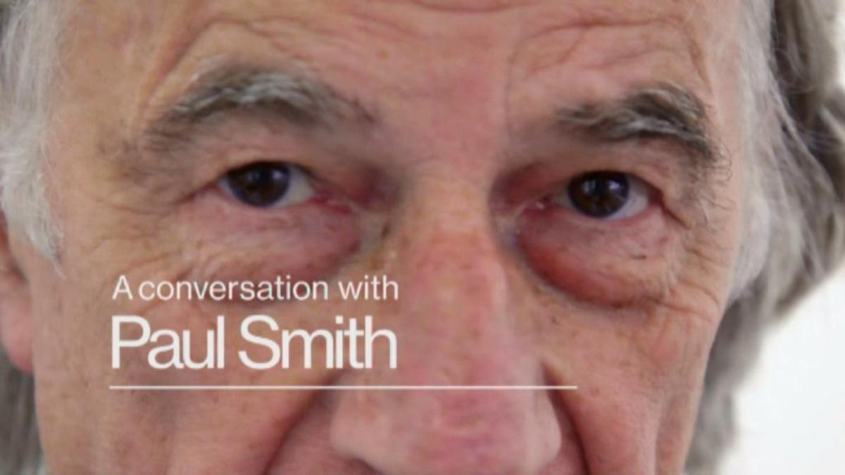 Looking Sharp: A conversation with Paul Smith