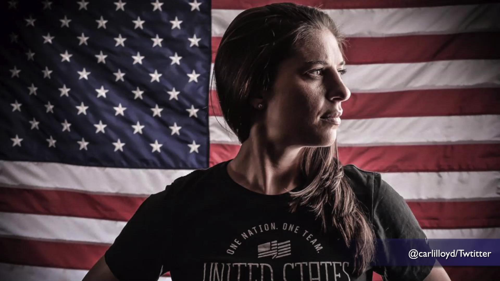 Twitter wants World Cup hero Carli Lloyd for President, $10 bill