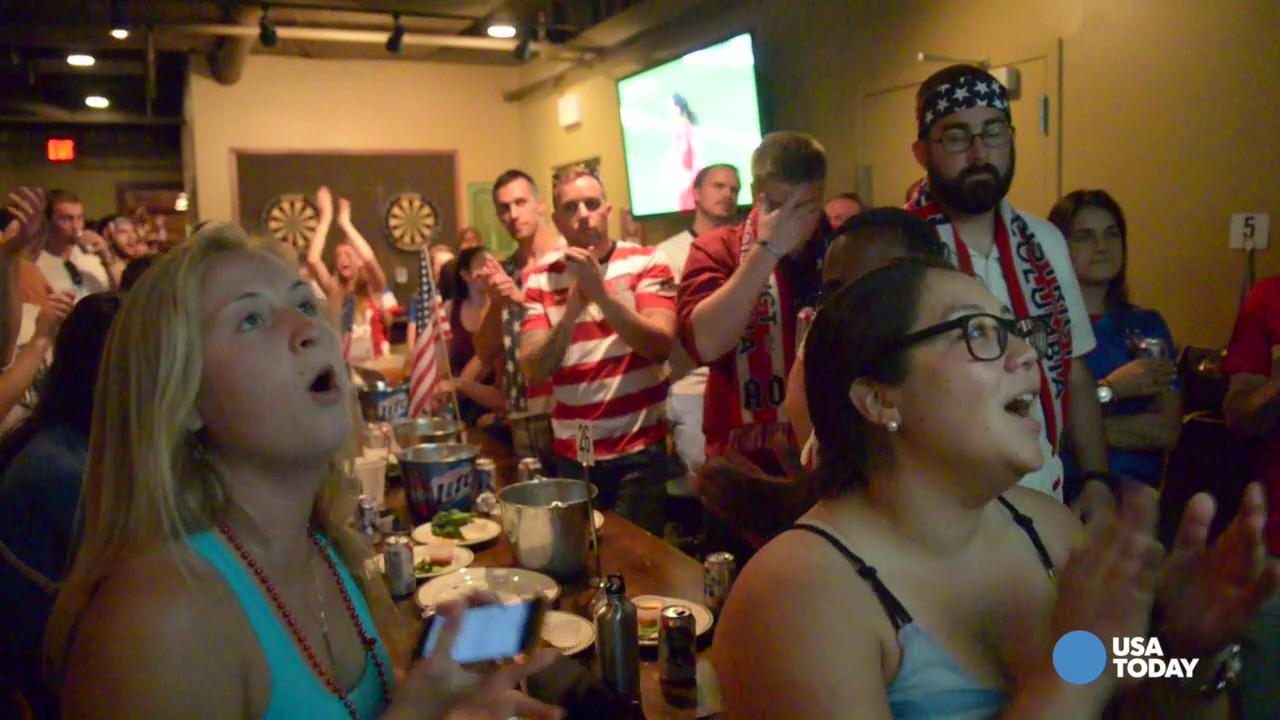Passionate fans fill with pride during World Cup Soccer watch parties