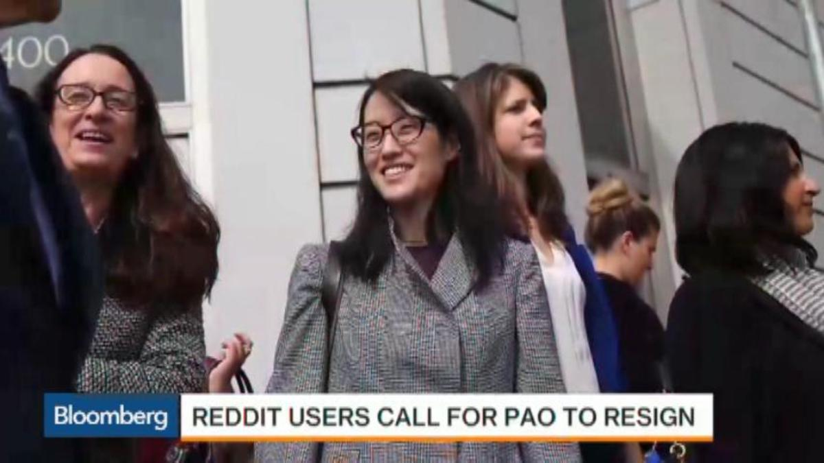 Reddit users call for Ellen PAO to resign