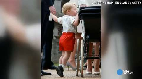 Princess Charlotte, Prince George compete for cuteness