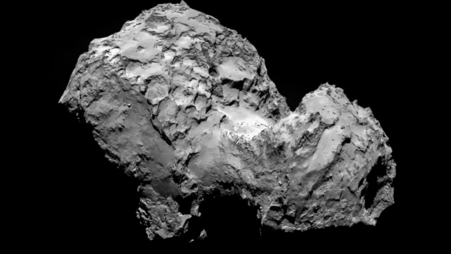 Comet may host alien life