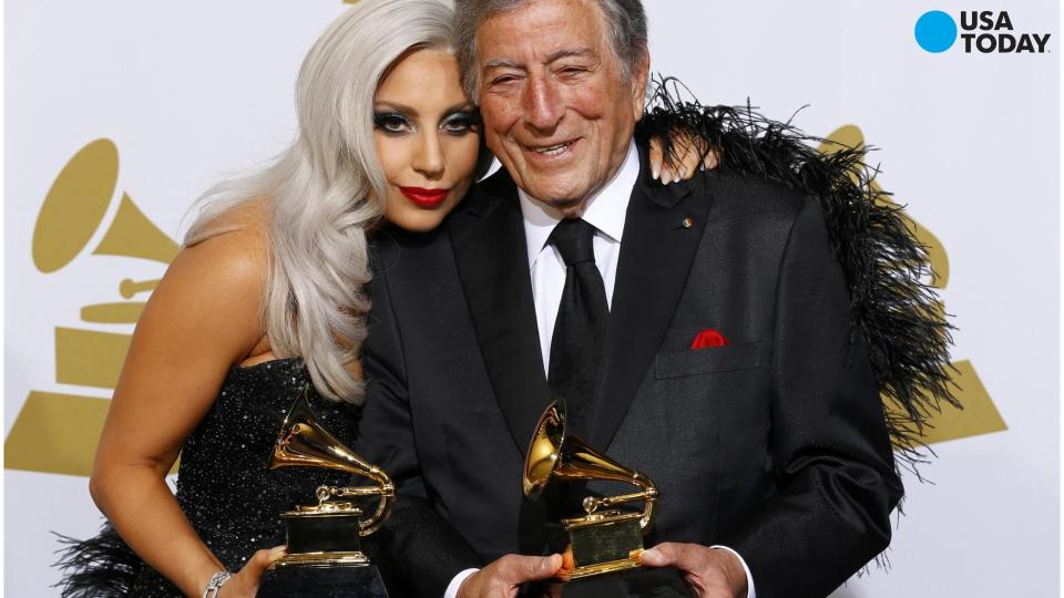 Lady Gaga and Tony Bennett perform at Montreux Jazz Fest