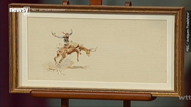1920's Hollywood painting scores big on 'Antiques Roadshow'