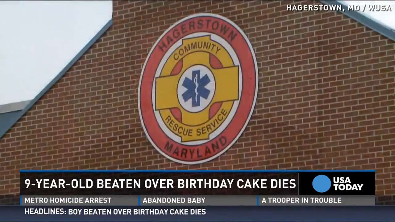 9-year-old beaten over birthday cake dies