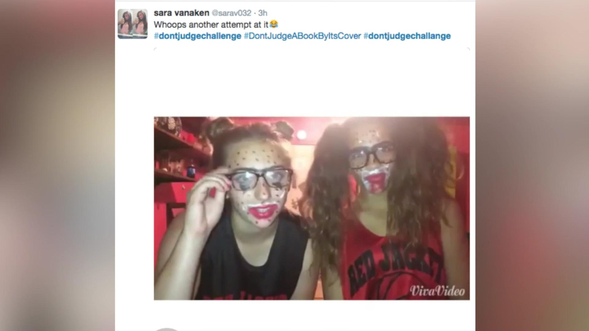 Teens get ugly on Instagram for 'Don't Judge' challenge