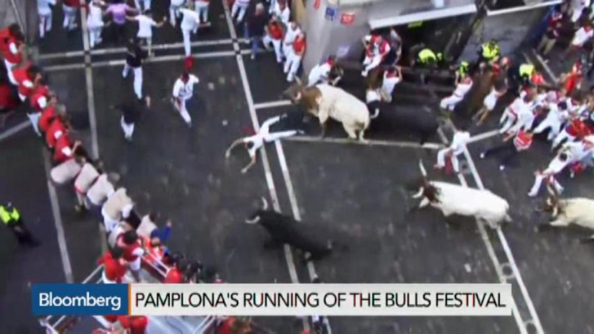 Go Bulls: Risking Life and Limb in Pamplona's Festival