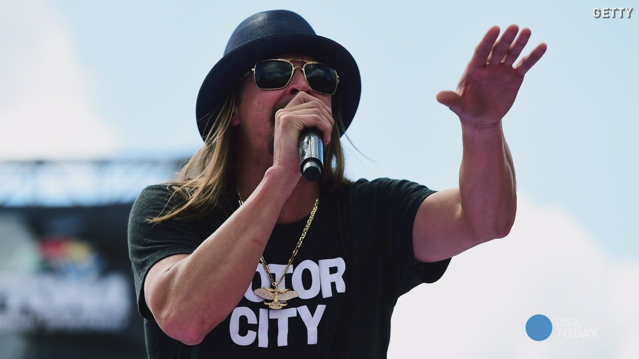 Kid Rock urged to renounce Confederate flag