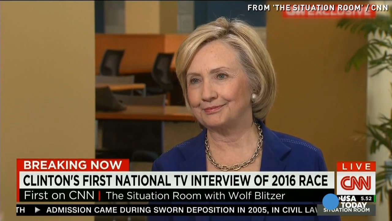 Hillary Clinton on 2016 chances: 'I feel very good'