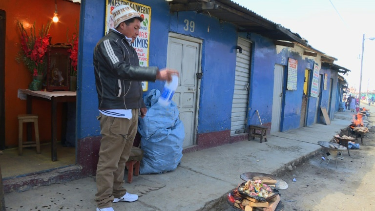Bolivia's indigenous Catholics believe in Pope, and mother earth