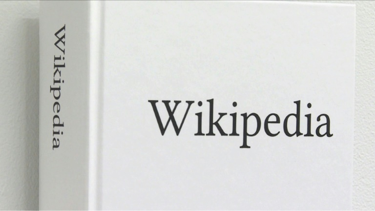 If you miss the days when encyclopedias were something you picked up rather than clicked, there's good news: artist Michael Mandiberg is making the whole English version of Wikipedia available as printed books - 7,600 of them in all.