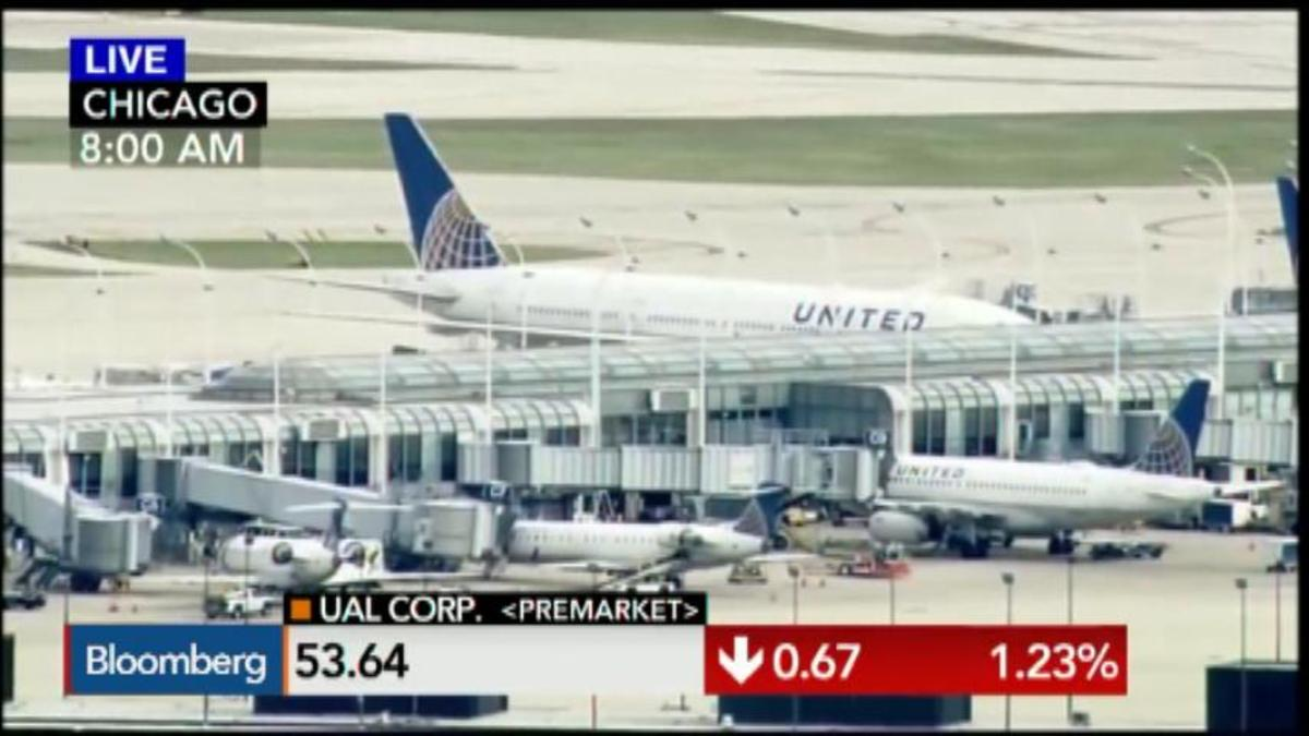 Computer glitch halts all United Airlines departures