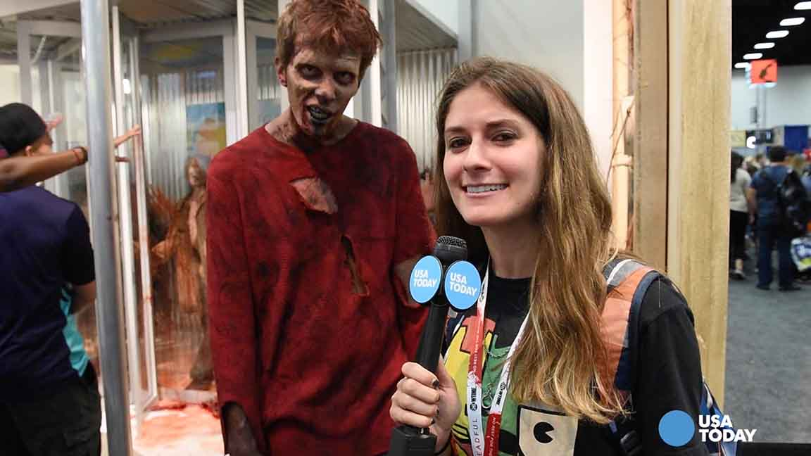 Zombies, super heros, virtual realty: Comic Con descends on San Diego