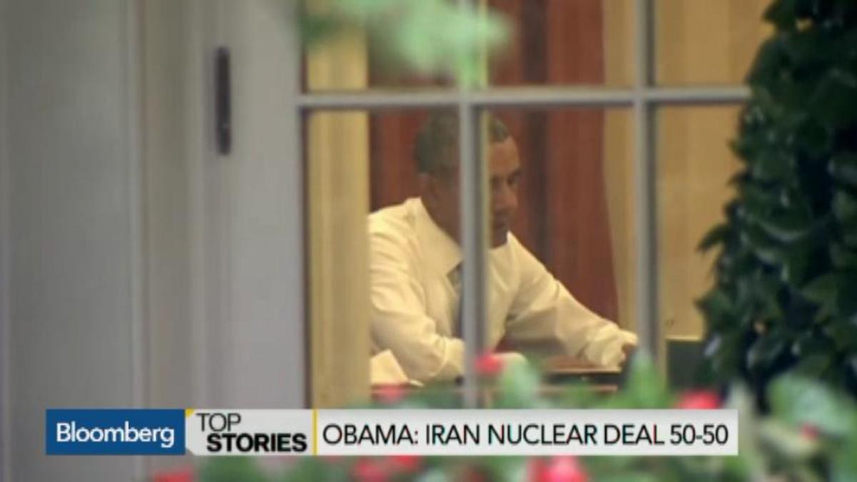 Obama no longer sanguine on deal with Iran