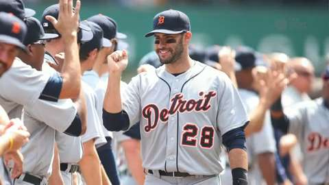 USA TODAY Sports breaks down the impact of Tigers outfielder J.D. Martinez.
