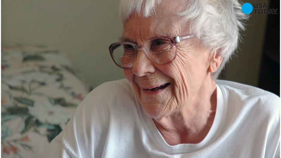 Author Harper Lee seen for the first time in years