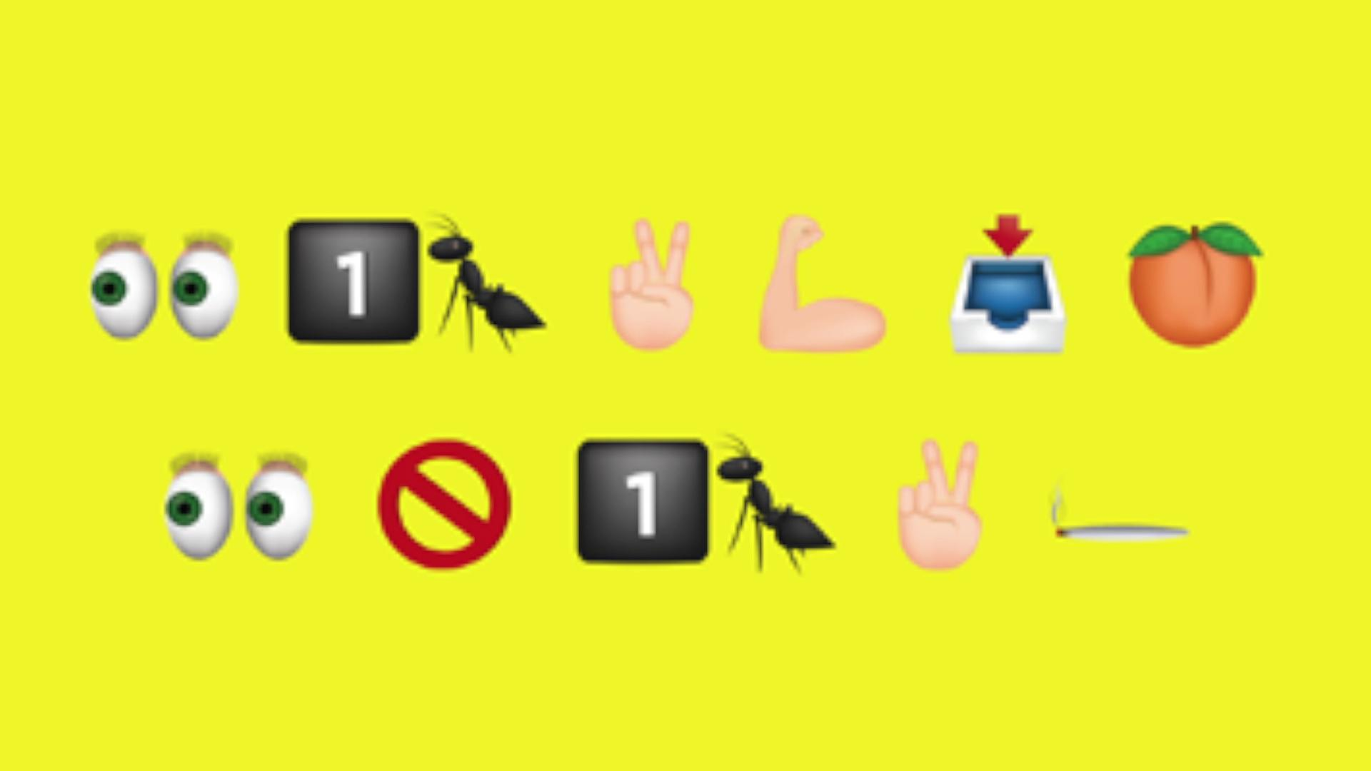 Your teenager will be able to read this emoji campaign, but you won't