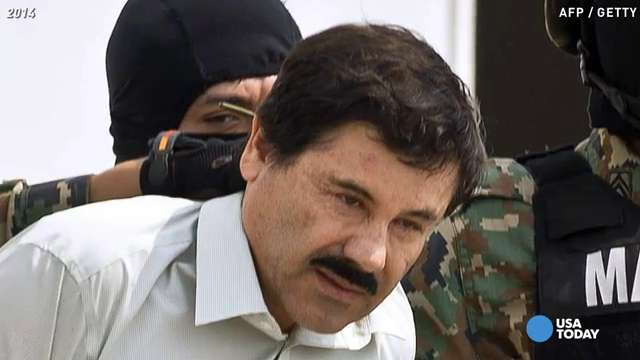 Notorious Mexican drug lord 'El Chapo' escapes again