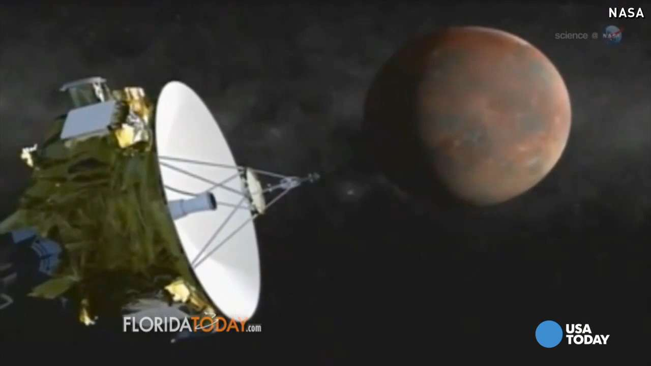 3 billion miles later, spacecraft closes in on Pluto