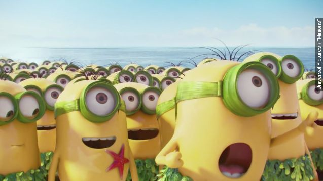 Box office top 3: Universal scores big again with 'Minions'
