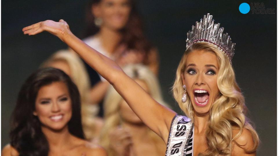 Miss Oklahoma wins Miss USA, Donald Trump M.I.A.